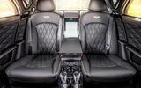 Bentley Mulsanne Speed rear seats