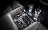 Bentley Mulsanne Speed rear controls