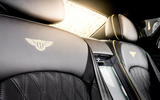 Bentley Mulsanne Speed seat stitching