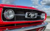 Ford Mustang grille five generations