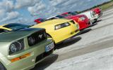 Ford Mustang five generations