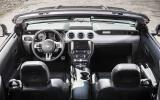 Ford Mustang Convertible dashboard