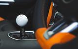 Sutton Mustang CS800 2019 UK first drive review - gearstick