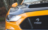 Sutton Mustang CS800 2019 UK first drive review - front badge