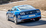 Ford Mustang 2.3 EcoBoost 2018 review rear