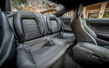 Ford Mustang 2.3 EcoBoost 2018 review rear seats