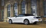 V8 Ford Mustang side profile