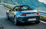 Mazda MX-5 Skyactiv-G 2.0 2018 first drive review hero rear