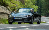 Mazda MX-5 Skyactiv-G 2.0 2018 first drive review on the road front