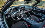 Mazda MX-5 Skyactiv-G 2.0 2018 first drive review dashboard