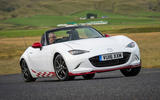 Mazda MX-5 Icon hard cornering