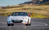 Mazda MX-5 Icon cornering