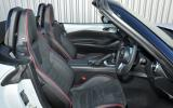 Mazda MX-5 Recaro interior