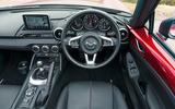 Mazda MX-5 steering wheel