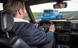 Ford Focus RS vs Lancia Delta HF Integrale Evo 1r