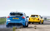 Ford Focus RS vs Lancia Delta HF Integrale Evo 1