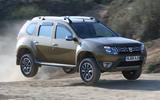 Dacia Duster - jump