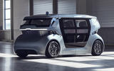 NEVS Sango self-driving shuttle - front