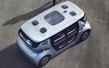 NEVS Sango self-driving shuttle - roof