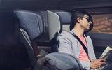 NEVS Sango self-driving shuttle - interior