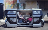 NEVS Sango self-driving shuttle - side