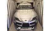 Toyota Supra leaked pic of front end