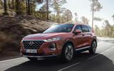Hyundai Santa Fe 2018 first drive review hero front