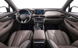 Hyundai Santa Fe 2018 first drive review cabin