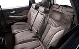 Hyundai Santa Fe 2018 first drive review rear seats