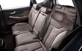 Hyundai Santa Fe 2018 first drive review rear seats