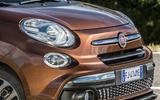 Fiat 500L front end