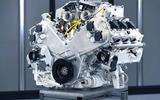 Aston Martin V6 engine angle 1