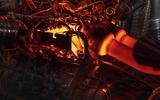 Aston Martin V6 engine heat details