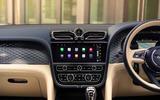 2021 Bentley Bentyaga Hybrid - dashboard