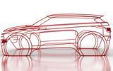 2019 Range Rover Evoque sketch