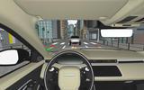 2019 Range Rover Evoque CGI cockpit