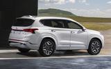 2020 Hyundai Santa Fe - static rear