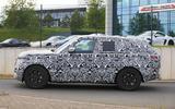 New Range Rover spyshot side dead