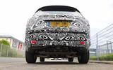 New Range Rover spyshot rear low