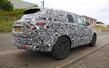New Range Rover spyshot side rear