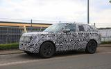 New Range Rover spyshot front side