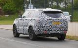 New Range Rover spyshot rear
