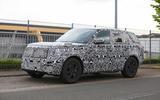 New Range Rover spyshot front side 2