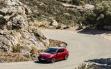 New Seat Leon dynamic shots cornering