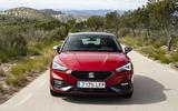 New Seat Leon dynamic shots front driving