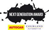 Autocar-Courland Next Generation Award logo