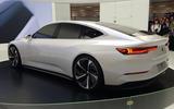 Nio ET preview - Shanghai Motor Show 2019 - rear