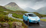 Nissan Leaf versus the Three Peaks Challenge
