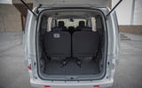 Nissan e-NV200 Evalia boot space