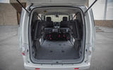 Nissan e-NV200 Evalia extended boot space